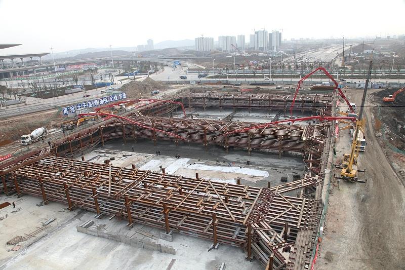 南京南站隧道支护工程