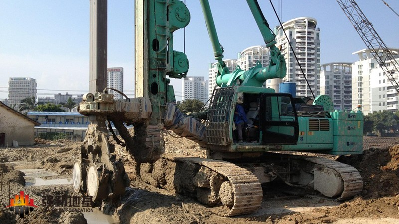 双轮铣水泥土截渗墙