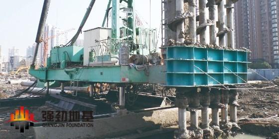 六轴水泥土搅拌桩技术-强劲地基