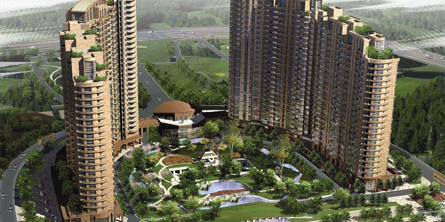 桩基工程:上海古北国际广场