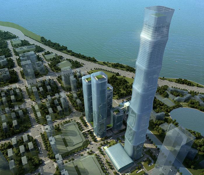 安徽合肥恒大中心518米超高层桩基工程