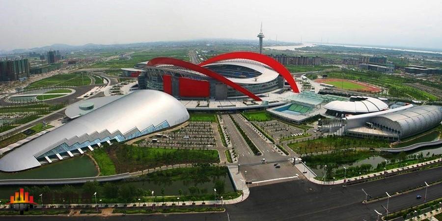 詹天佑奖项目、大吨位静压桩:南通体育会展中心