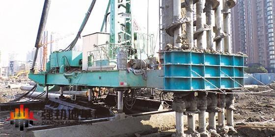 六轴水泥土搅拌桩技术