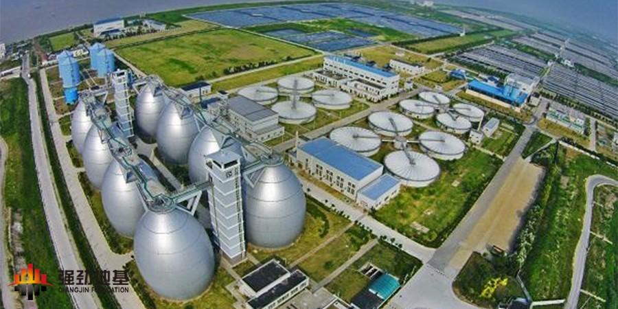 桩基工程:白龙港污水处理厂提标改造工程BLG-C2标