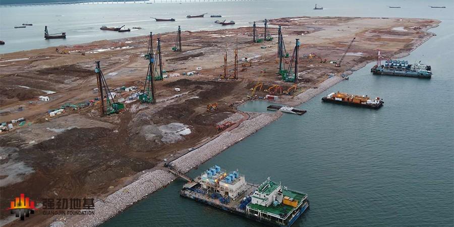 陆域DCM:香港国际机场第三跑道