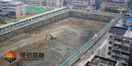 基坑土方开挖