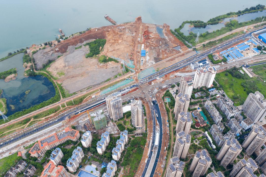 SMW工法+地基加固:文明东越江通道项目江西段