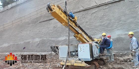 岩土锚杆基础施工工艺