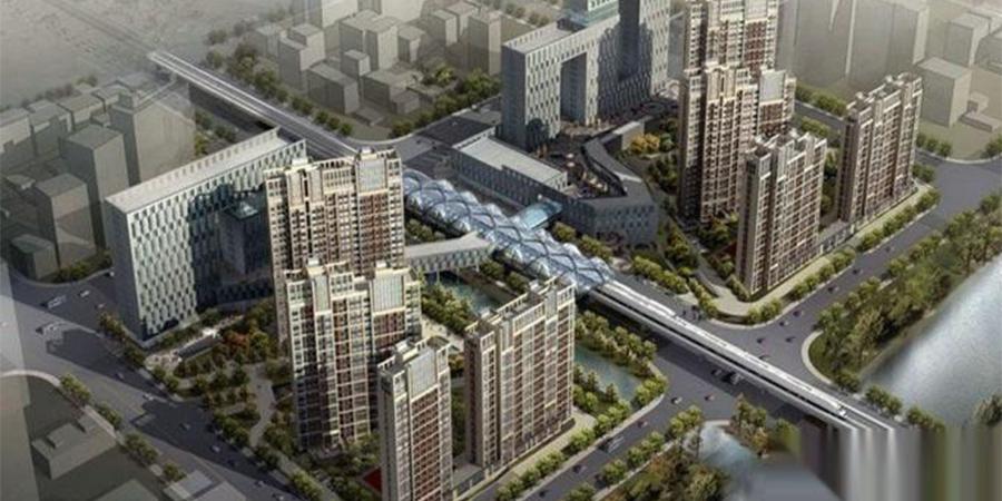 基坑工程:上海白银时代五期地下室