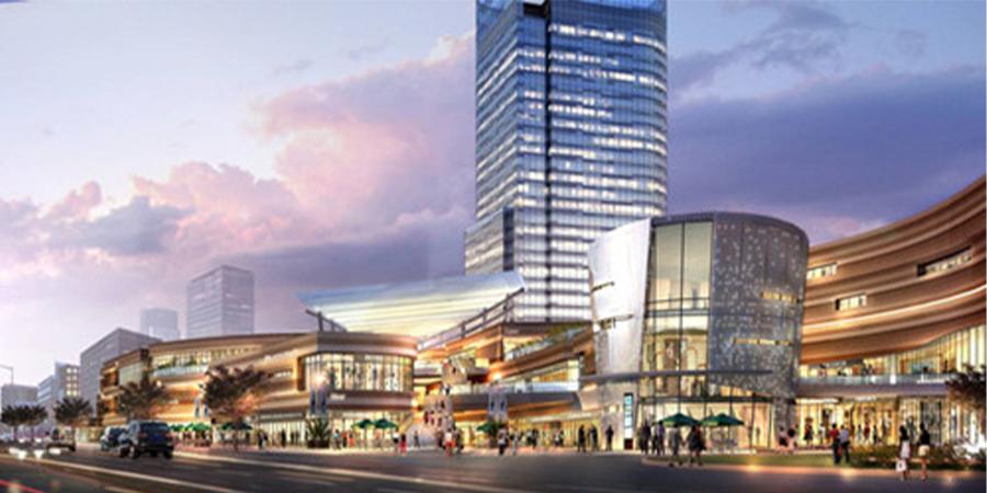 基坑工程:上海市青浦区富绅商业中心