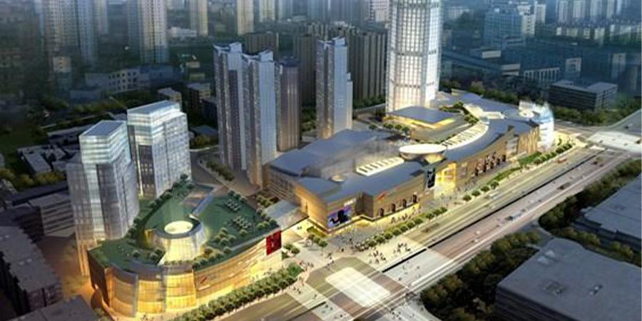 三轴搅拌桩:天津大悦城项目