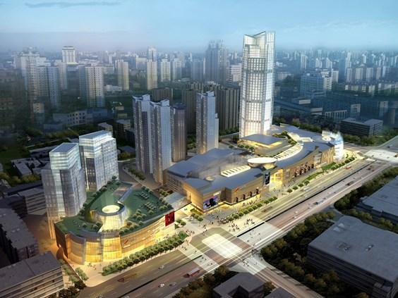 三轴搅拌桩工程:天津大悦城项目