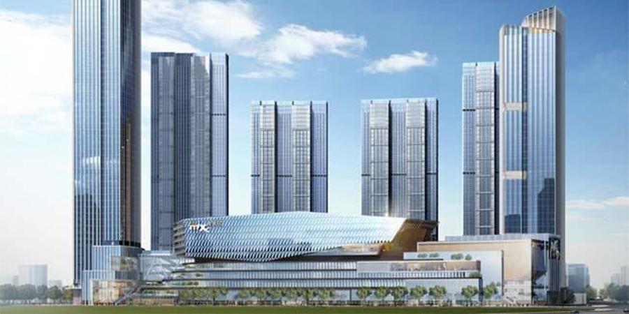 三轴水泥搅拌桩:武汉华润万象城