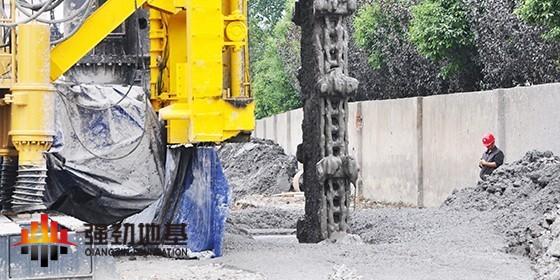 强劲地基施工技术之TRD等厚水泥土搅拌连续墙技术(TRD工法)