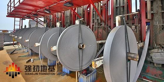 强劲解说水上PVD(塑料排水板)技术